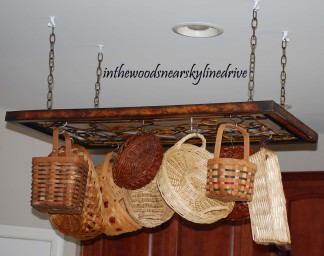 Basket rack