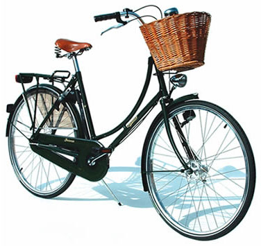 Bikes With Baskets Image