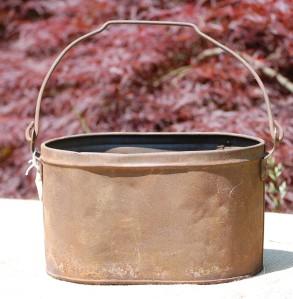 old junk pail