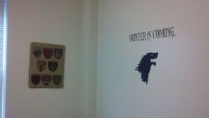 Game of Thrones decor